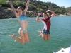 Custom swim platform Mariah z302