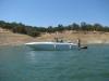 Mariah z302 custom swim platform.